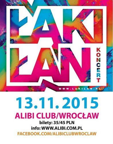 Łąki Łan w klubie Alibi