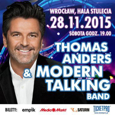 Thomas Anders & Modern Talking Band – Koncert Andrzejkowy