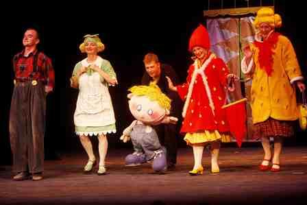 OCH, EMIL! Spektakl w Teatrze Lalek