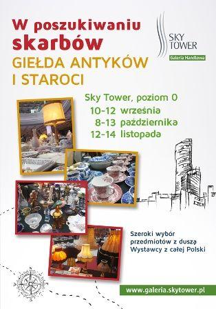 Giełda Antyków i Staroci w Sky Tower
