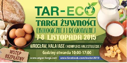Targi żywności ekologicznej TAR-ECO
