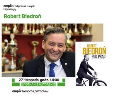 Robert Biedroń w Empiku