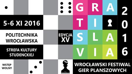XV Wrocławski Festiwal Gier Planszowych Gratislavia