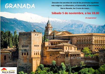 Poznaj Granadę w Casa de Espana