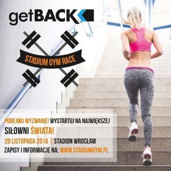 Get Back Stadium Gym Race czyli bieg po trybunach Stadionu Wrocław