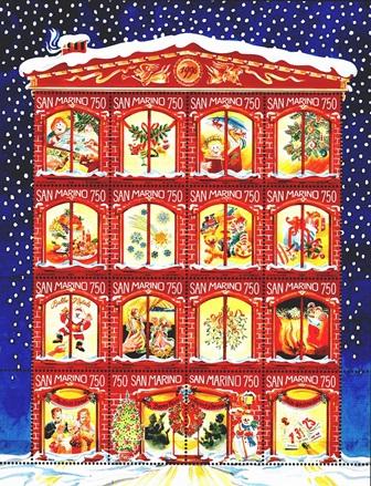 Wokół Bożego Narodzenia na znaczkach pocztowych