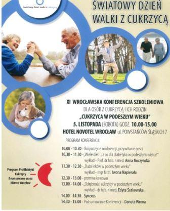 Konferencja z okazji Światowego Dnia Walki z Cukrzycą