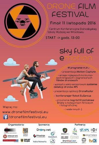 Drone Film Festival Wrocław 2016: festiwal filmów dronowych