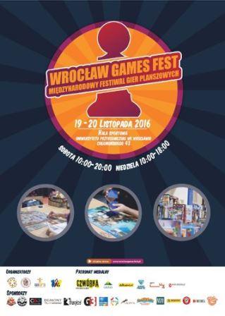 VI Międzynarodowy Festiwal Gier Planszowych – Wrocław Games Fest 2016