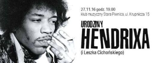 Urodziny Hendrixa (i Cichońskiego) w Starej Piwnicy