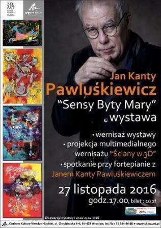 Jan Kanty Pawluśkiewicz w CKWZ: wystawa i koncert