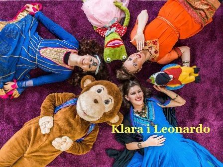 Klara i Leonardo - Spektakl dla dzieci + warsztaty