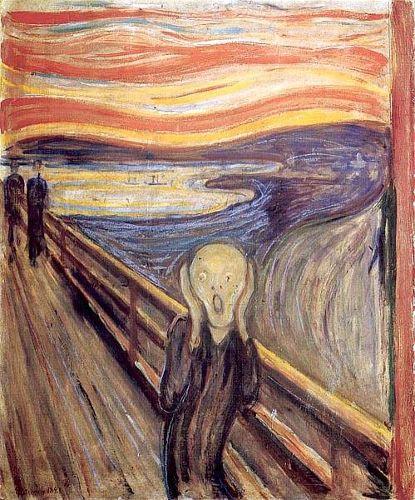 Krzyk – Półcienie. Pokaz scen inspirowany malarstwem Muncha