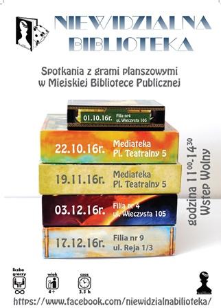 Niewidzialna Biblioteka Ţ spotkania z grami planszowymi