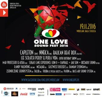 13. One Love Sound Fest 2016 w Hali Stulecia