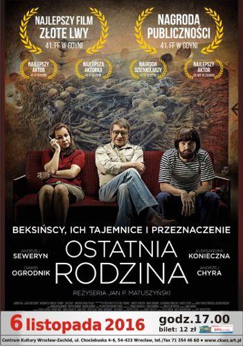 """""""Ostatnia Rodzina"""" w Centrum Kultury Wrocław Zachód"""