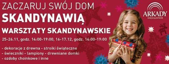 Warsztaty skandynawskie w Arkadach Wrocławskich
