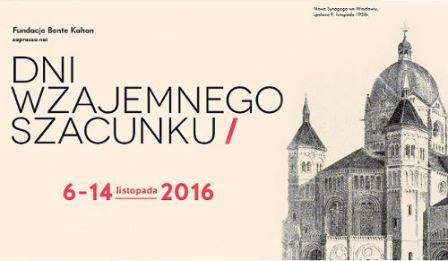 """Dni Wzajemnego Szacunku 2016: Zwiedzanie mykwy, koncert Bente Kahan i film """"Le beau danger"""""""