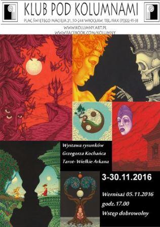Tarot – Wielkie Arkana – wernisaż prac Grzegorza Kochańca