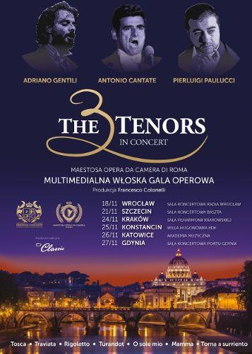 Koncert Trzech Tenorów w Polskim Radiu