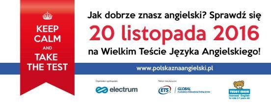 Lektor: Ogólnopolski Wielki Test Języka Angielskiego we Wrocławiu