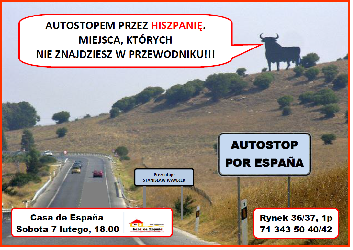 Autostopem przez Hiszpanię