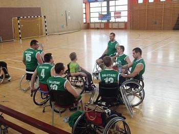 Międzynarodowy RGK CUP 2014/2015 koszykówki na wózkach