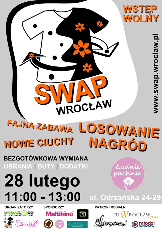 SWAP Wrocław czyli wymiana ubrań | butów | dodatków w Ładnie Pachnie