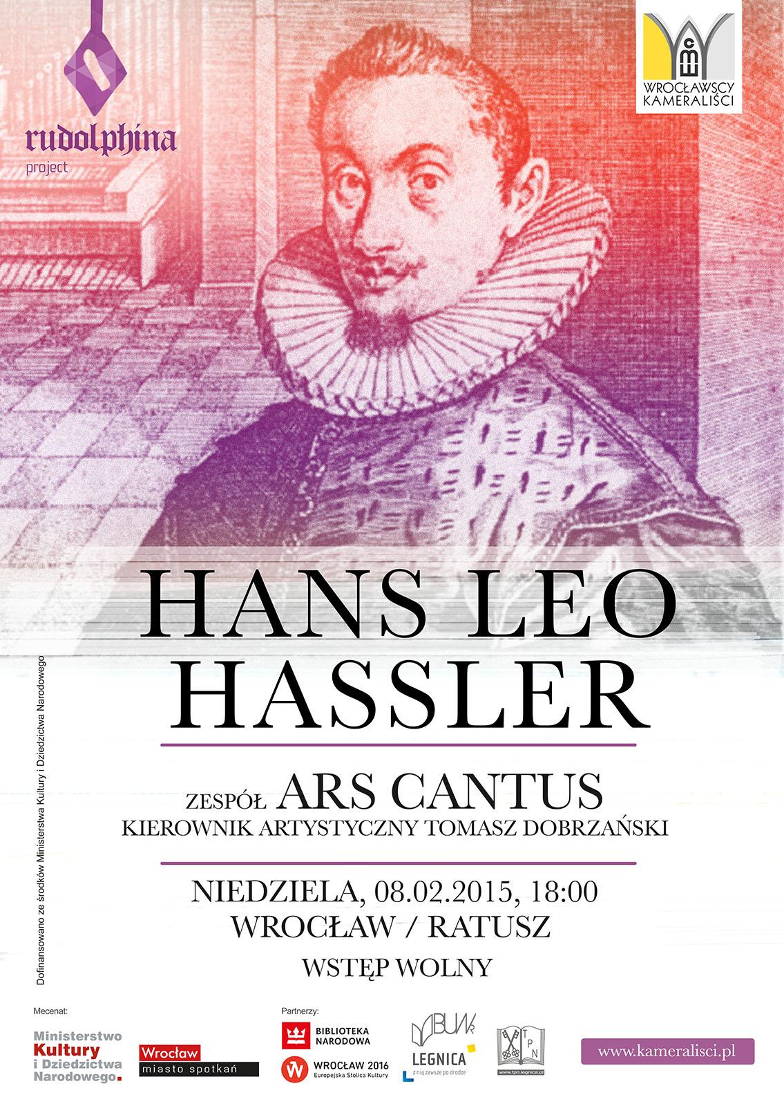 Koncert  HANS LEO HASSLER  w wykonaniu ARS CANTUS
