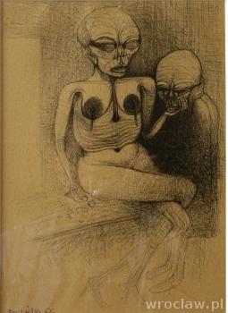 BEZ TYTUŁU - wernisaż wystawy rysunków Zdzisława Beksińskiego w 10 rocznicę śmierci artysty