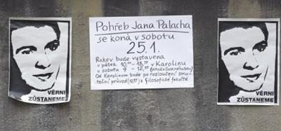 Czeskie Dni: Dzień Jana Palacha - dzień 1