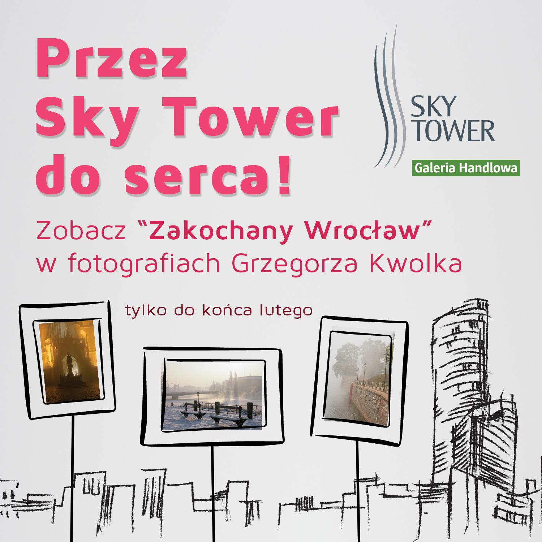 Zakochany Wrocław - wystawa w Sky Tower