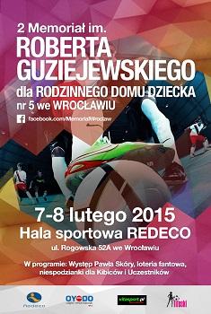 2. Memoriał im. Roberta Guziejewskiego - Turniej Charytatywny