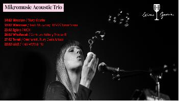 Nowy sezon Wino-Granie 2015 Mikromusic Acoustic Trio