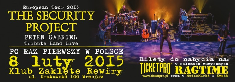 Security Project - Peter Gabriel Tribute Band