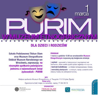 PURIM w Muzeum Etnograficznym