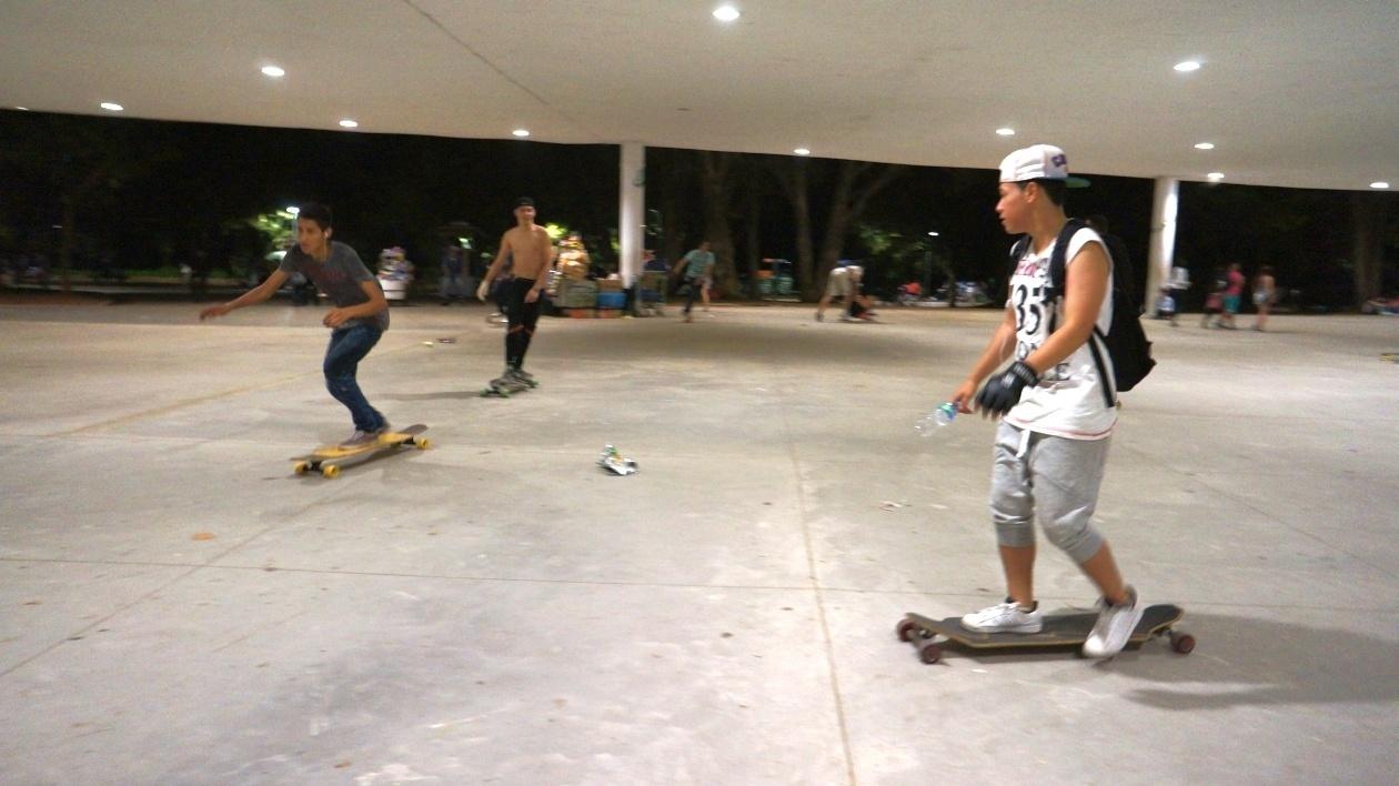Skate concrete w Centrum Sztuki WRO