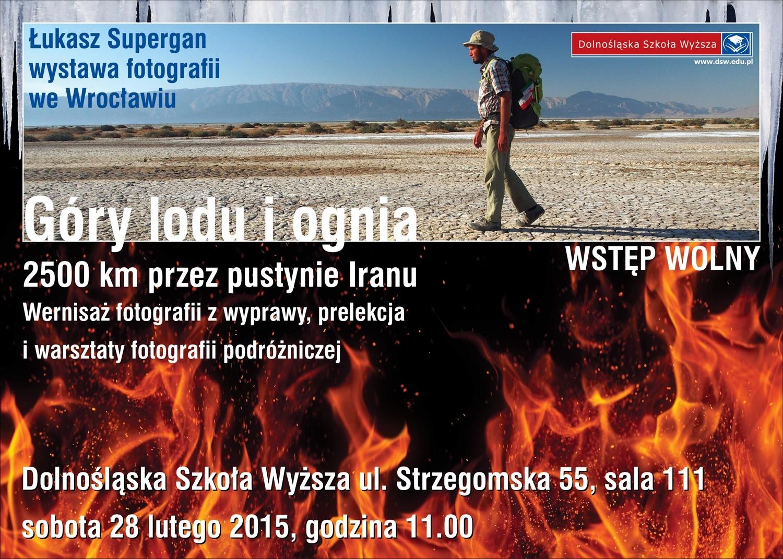 Łukasz Supergan - góry lodu i ognia