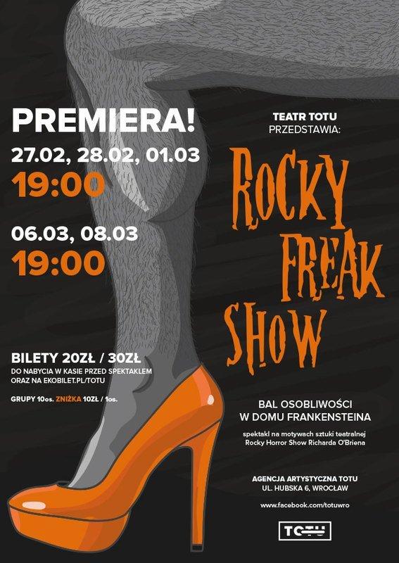 Teatr ToTu: Rocky FREAKSHOW!