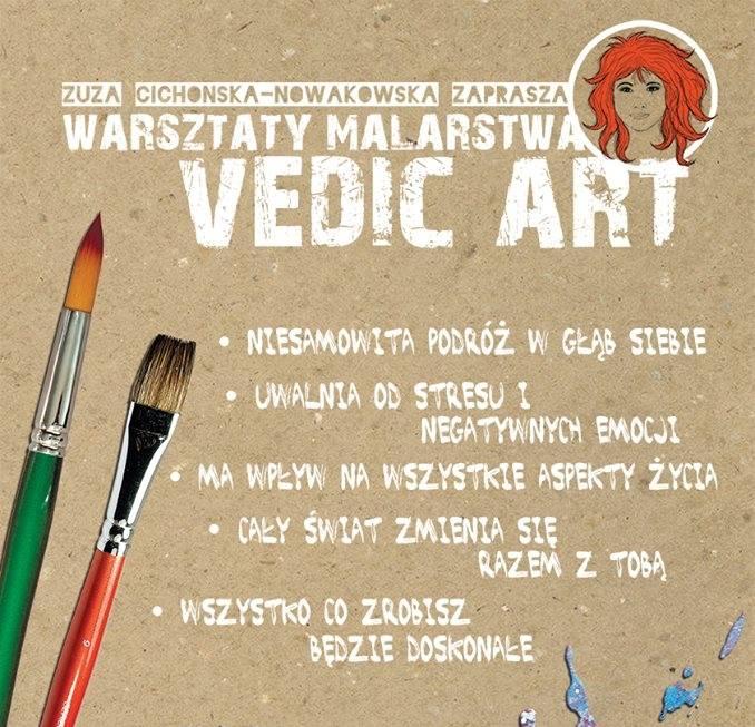 Marzenia Mam - warsztaty malarstwa Vedic Art