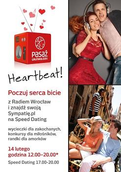 Walentynkowy Speed Dating w Pasażu Grunwaldzkim
