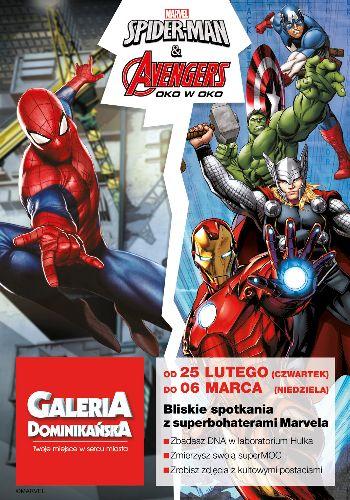 Spider-Man i Avengers w Galerii Dominikańskiej – koniec wystawy