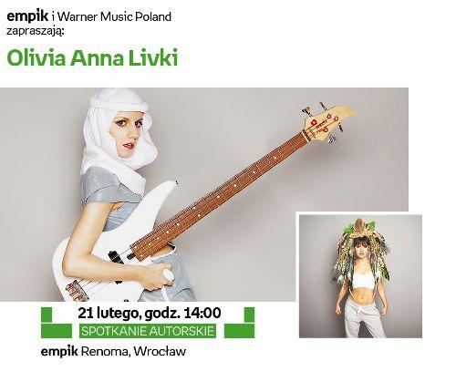 Olivia Anna Livki w Empiku