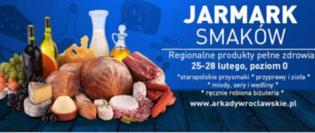 Jarmark Smaków w Arkadach Wrocławskich.