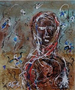 Wernisaż wystawy malarskiej Michała Błacha w Klubie Pod Kolumnami