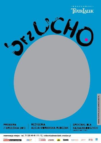 brzUCHO – spektakl dla najmłodszych dzieci