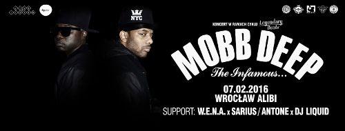 Mobb Deep w klubie Alibi