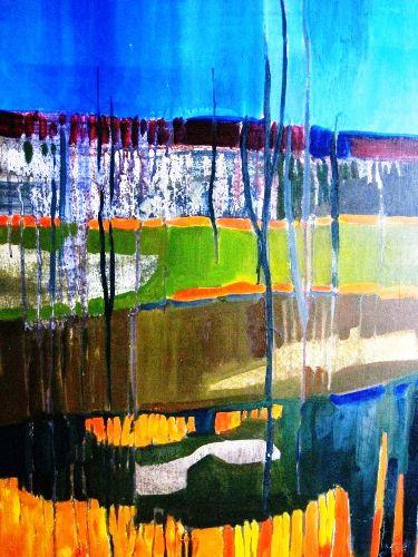 Krajobrazy wewnętrzne. Marta Galantowicz – malarstwo
