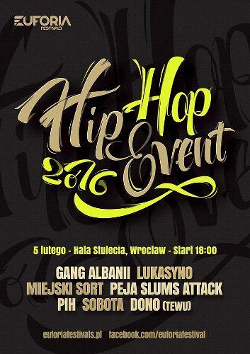 Hip Hop Event 2016 w Hali Stulecia