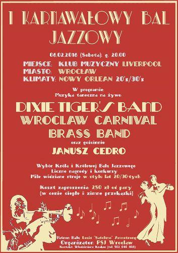 I Karnawałowy Bal Jazzowy